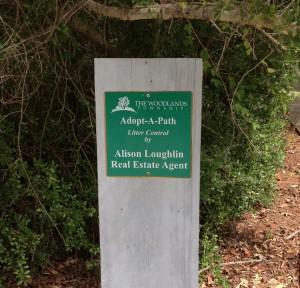 Alison Loughlin Adopt-A-Path